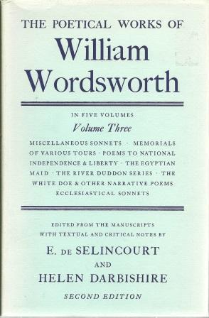 The poetical Works of William Wordswoth: Volume: Wordsworth, William [