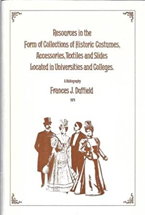Resources in the Form of Collections of: Duffield, Frances J.