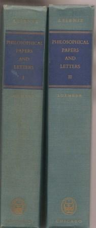 Philosophical Papers and Letters [ Volume I: Leibniz, Gottfried Wilhelm