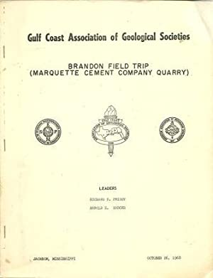 Brandon Field Trip (Marquette Cement Company Quarry): Priddy, Richard R.; Karges, Harold E. [ ...