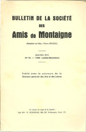 Bulletin De La Societe Des Amis De: Michel, Pierre [