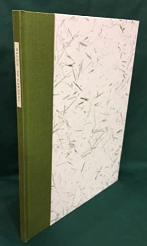 Of Gardens With perspex Engravings By Betty Pennell