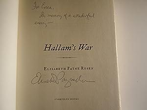 Hallam's War: Rosen, Elisabeth Payne