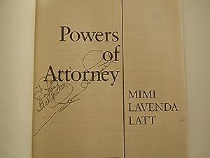 Powers of Attorney: Latt, Mimi Lavenda