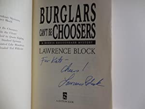 Burglars can't be Choosers: Block, Lawrence
