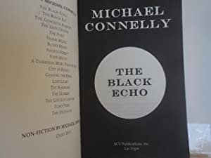 Black Echo ( Limited, signed #140 of 200 Black Number): Connelly, Michael