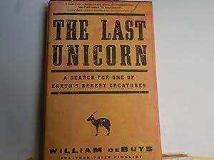 The Last Unicorn: DeBuys, William