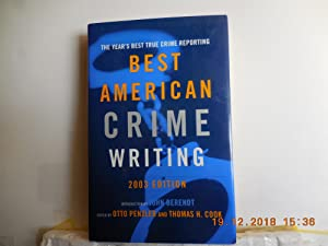 Best American Crime Writing 2003: Cook, Thomas