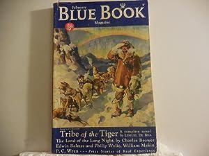 Blue Book Magazine February 1934: Wren, Percival - P. C. ( Fighting for Amanda)