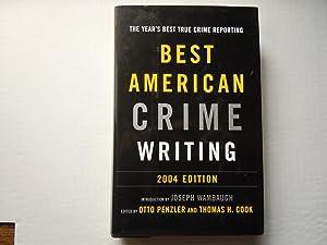 Best American Crime Writing 2004: Penzler, cook