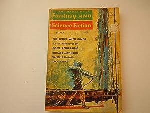 Fantasy and Science Fiction: Poul Anderson, Richard Matheson, Vance Aandahl, Jack Vance