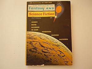Fanatasy and Science Fiction: Asimov, Bester, Davidson, De Camp Macleish, Matheson