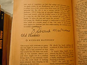 Fantasy and Science Fiction: Matheson, Richard (signed)-Lieber, Fritz - Lewis Carroll, L. Sprague ...