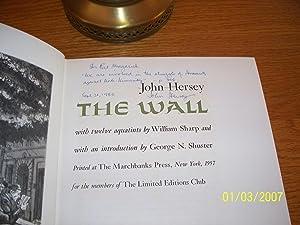 The Wall: John Hersey