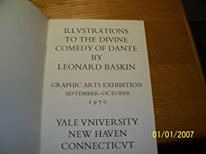 Drawings For Dante's Divine Comedy: An Exhibition: Leonard Baskin
