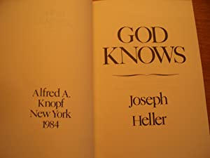 God Knows: Joseph Heller