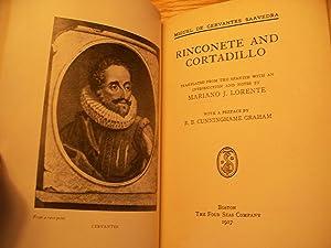 Rinconete and Cortadillo: Miguel De Cervantes Saavedra