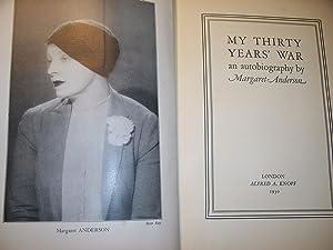 My 30yrs' War: Margret Anderson
