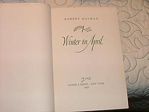 Winter in April: Robert nathan