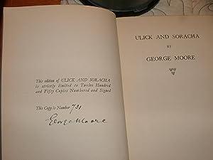 Ulick and Soracha: George Moore