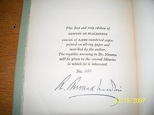 Newton on Blackstone: A. Edward Newton