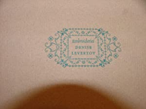 Embroideries: Denise Levertov