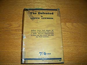 The Defeated: Ludwig Lewishon