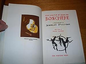 The World of jean De Boochere: Samuel Punam