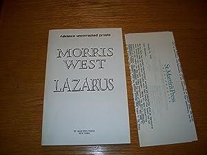 Lazarus: Morris West