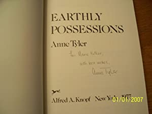 Earthly Possessions: Anne Tyler