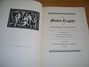 The Maides Tragedy: Francis Beaumont & John Fletcher