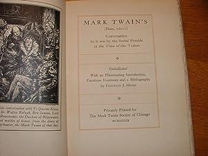 Mark Twain's 1601: Franklin Meine