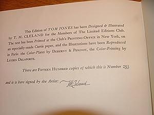 The History of Tom Jones: A Foundling: Henry Fielding, Esq.