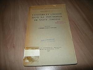 L'Univers et l'Homme dans la philosophie de: Joseph Legrand, S.