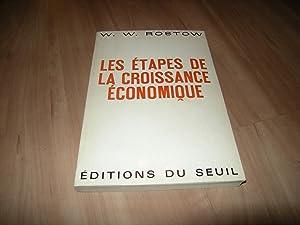 Les étapes de la croissance économique: W. W. Rostow
