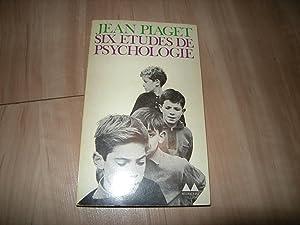 Six études de psychologie: Jean Piaget