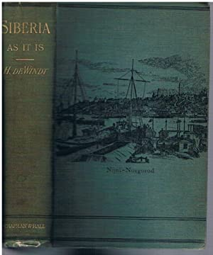 Siberia As It Is. With an introduction by Her Excellency Madame Olga Novikoff