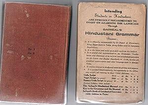 Saihgal's Hindustani Manual (The romanized pocket edition of Saihgal's Hindustani Grammar...
