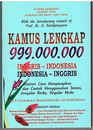 An Indonesian - English Dictionary. Kamus Lengkap: BARABA, Dr H.