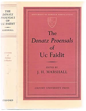The Donatz Proensals of Uc Faidit.