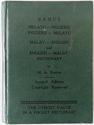 Malay - English and English - Malay: KARIM, M. A.