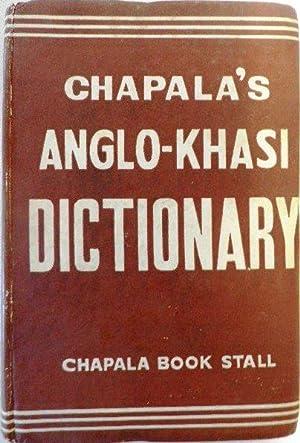 Chapala's Anglo-Khasi Dictionary. (English into Khasi): BLAH, U Edingson