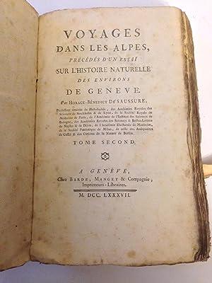 Voyages Dans Les Alpes, Précédés D'un Essai: Saussure Horace-Bénédict De