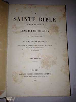 La Sainte Bible (6 volumes)