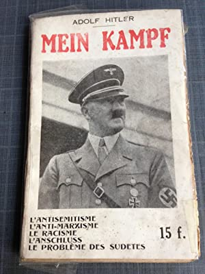 Mein Kampf. Extraits De Mein Kampf (mon: Hitler Adolf