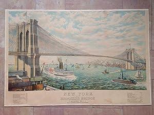 New York and Brooklyn Bridge (Bridge N°1): Roebling John A.