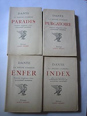 La Divine Comédie. Purgatoire, Paradis, Enfer, Index.: Dante