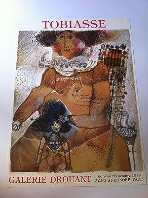 Affiche De Galerie Originale: Tobiasse Théo