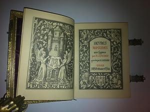 Heures Romaines Avec Figures Par A. Queroy Gravées Par A. Gusman