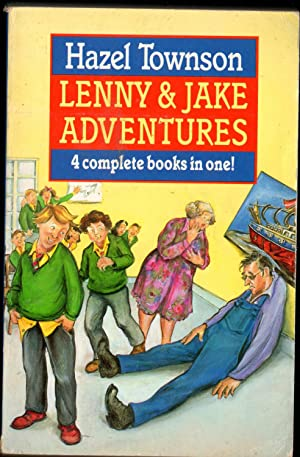 Lenny and Jake Adventures - 4 Complete Books in One - the Great Ice- Cream Crime, the Seige of Cobb...